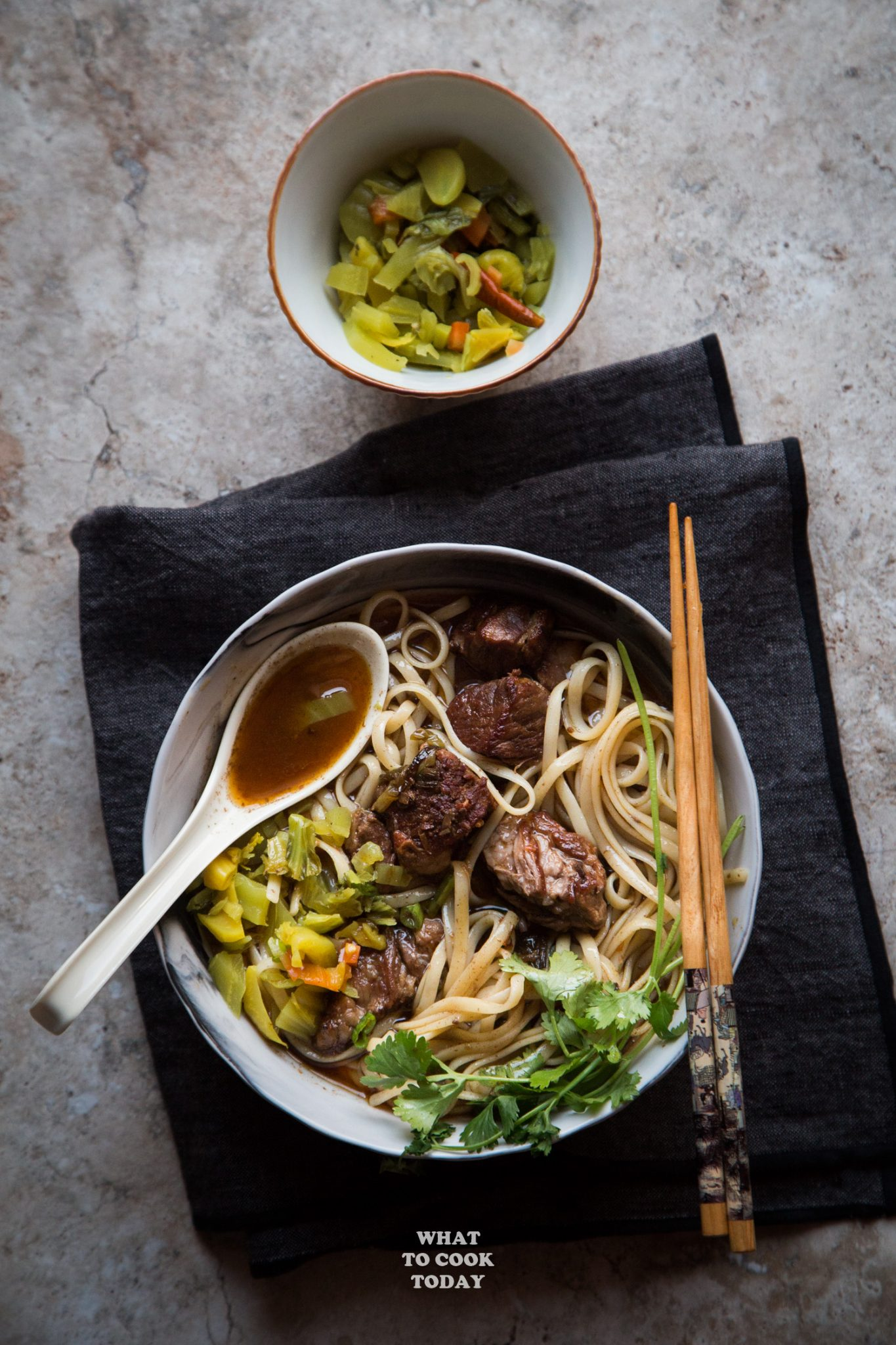 Taiwanese beef noodle soup (niu rou mian) #instantpot #beef #noodlesoup