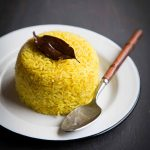 Indonesian Turmeric Rice / Nasi Kuning (Instant Pot, Rice Cooker, Stove-top)