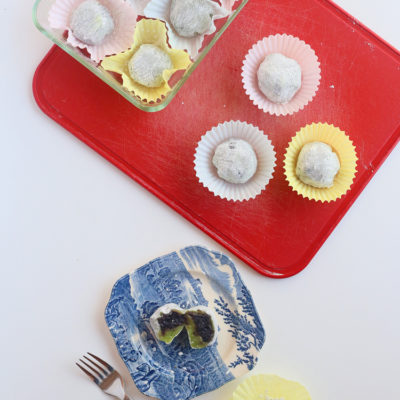 How to make daifuku mochi