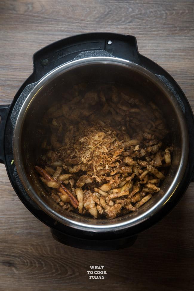 Pressure Cooker Lu Rou Fan (Taiwanese Braised Pork Belly Rice)