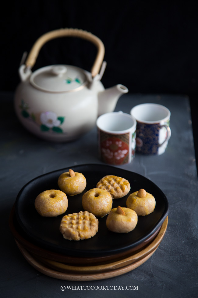 Melt-in-the-mouth Chinese Peanut Cookies (Kue Kacang Skippy)