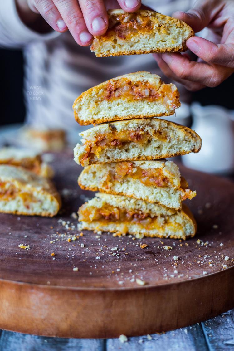 The ultimate cheesy corned beef hash scones #HowDoYoHash [ad]