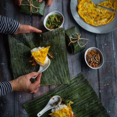 Indonesian nasi prang (mini spiced rice)