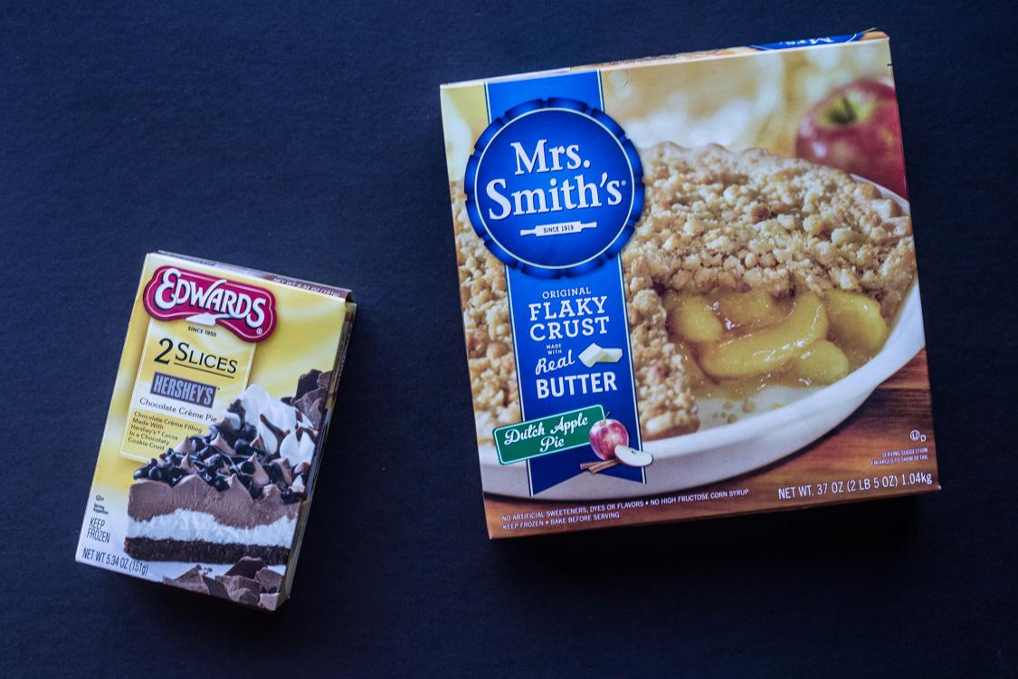 Mrs Smith's pie and Edwards Pie