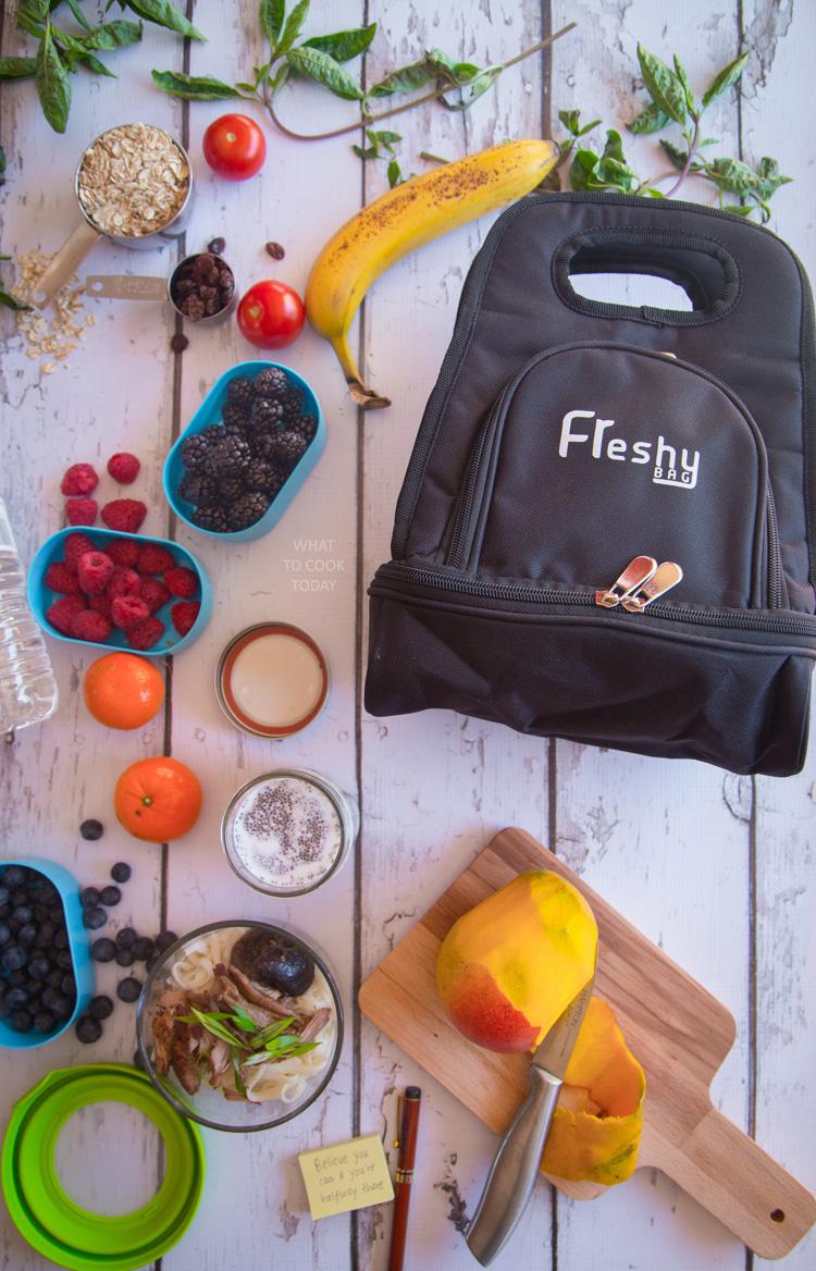 Freshy Bag insulated lunch bag #freshybag