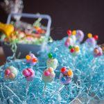 Easter egg pops