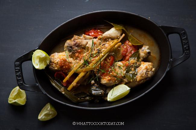 Ayam rica rica (Spicy Manado Chicken)