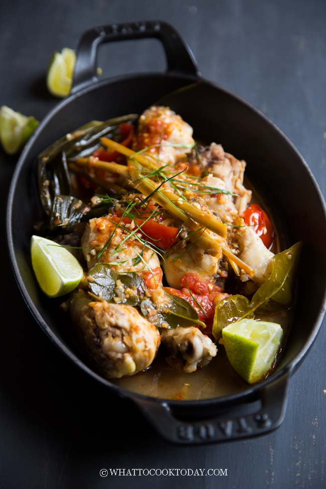 Ayam Rica Rica Spicy Manado Chicken What To Cook Today