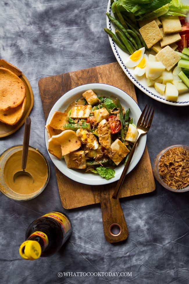 How To Make The Best Gado Gado Salad #gadogadosalad #gadogado #gadogadodressing