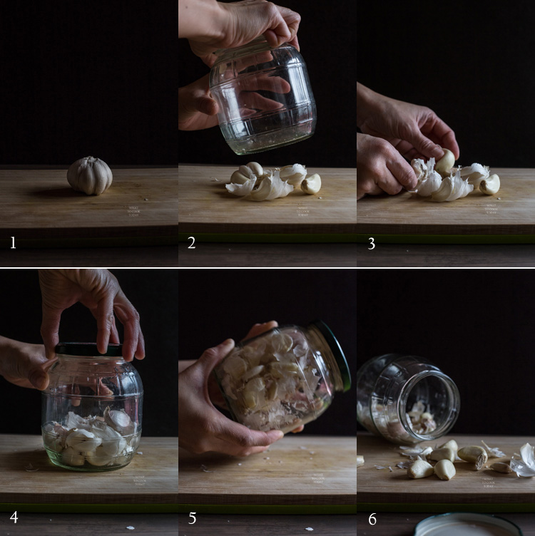 How to easily peel garlic