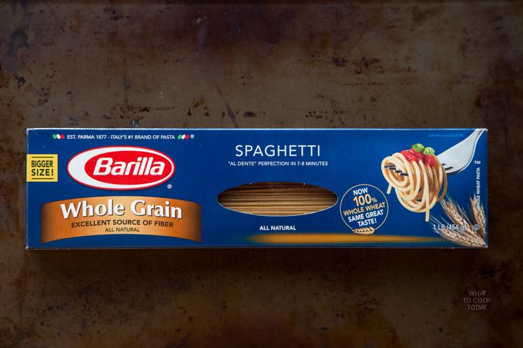Barilla Whole Grain Spaghetti #DareToPair #ad