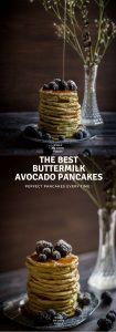 The Best Buttermilk Avocado Pancakes