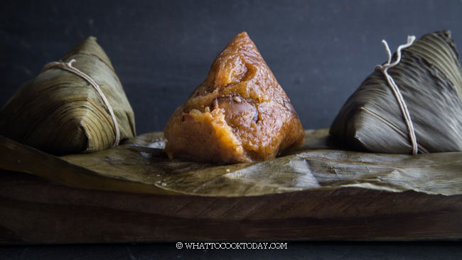 Easy Hokkien Bak Chang (Zongzi-Sticky Rice Dumplings)