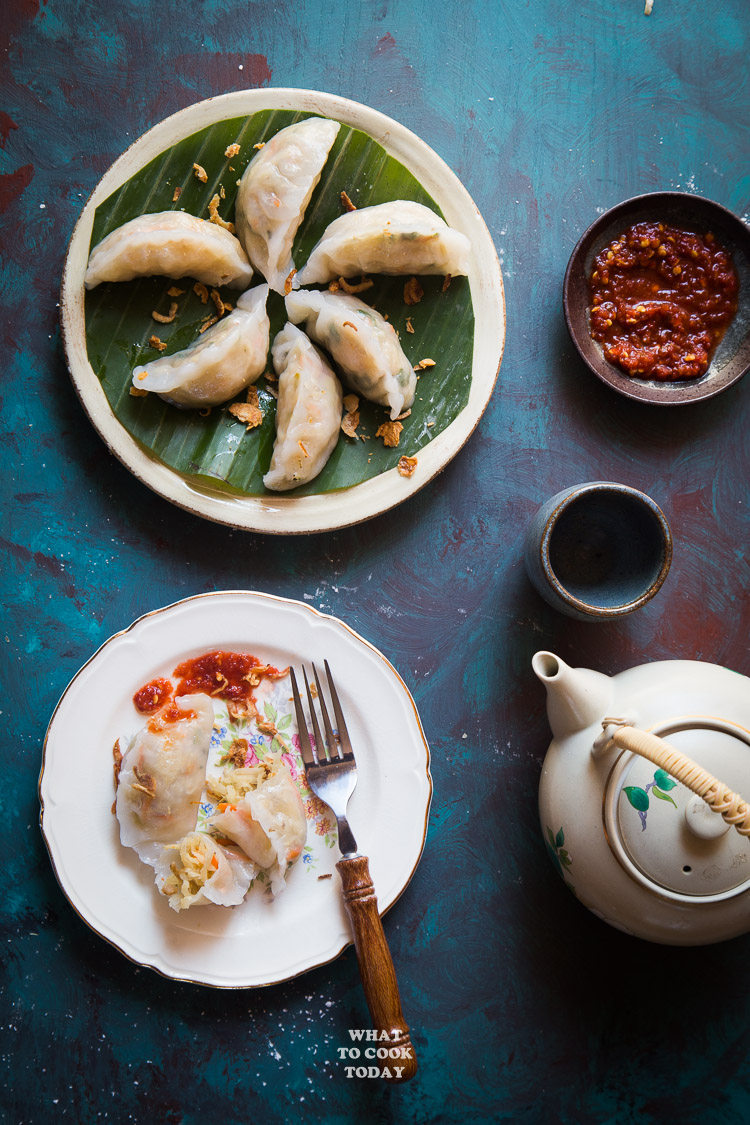 Chai Pao/Chai Kueh (Steamed Vegetable Dumplings)