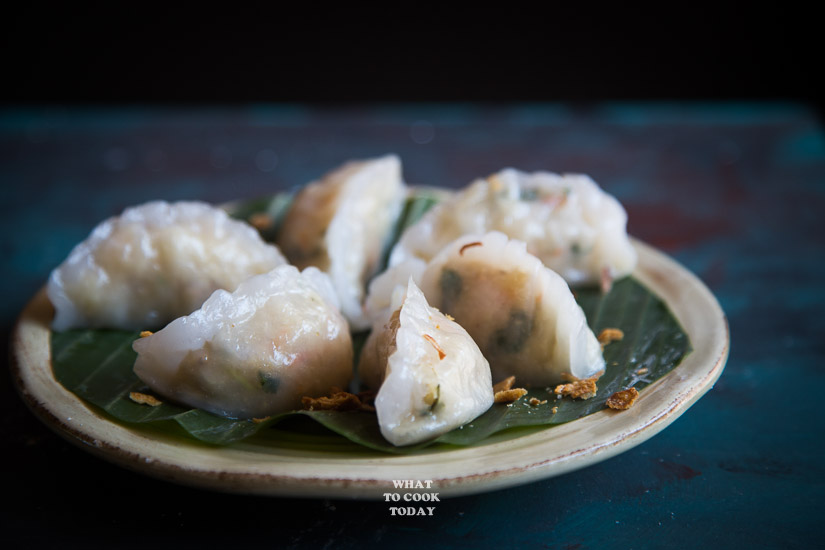 Choi Pan /Chai Kueh (Steamed Vegetable Dumplings)
