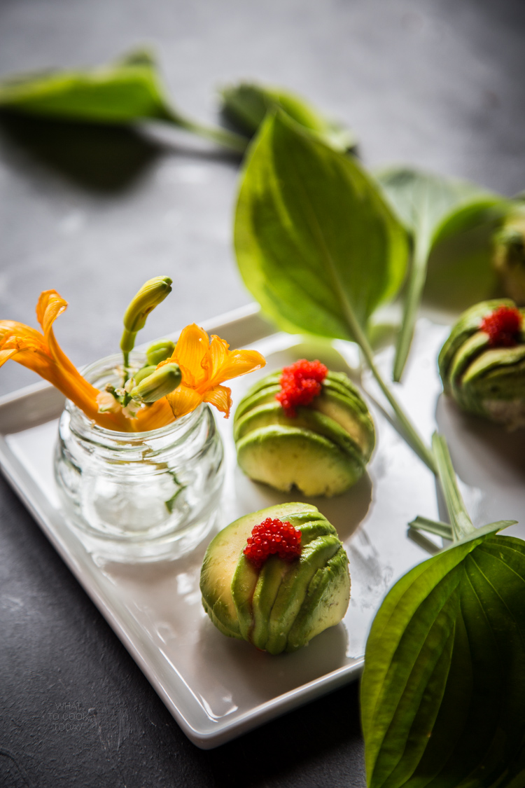 Pan-fried tonkatsu avocado rolls #foodphotography