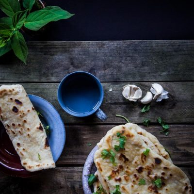 Seriously GOOD Homemade Garlic Naan