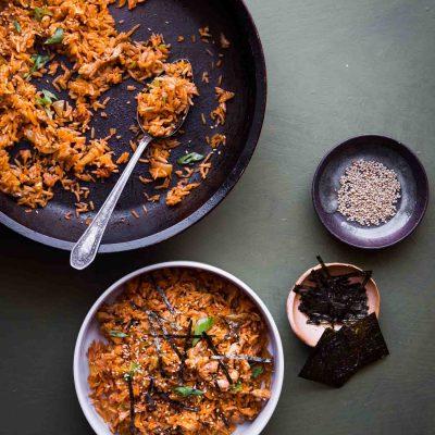 Super Delicious Kimchi Bokkeumbap (Kimchi Fried Rice)