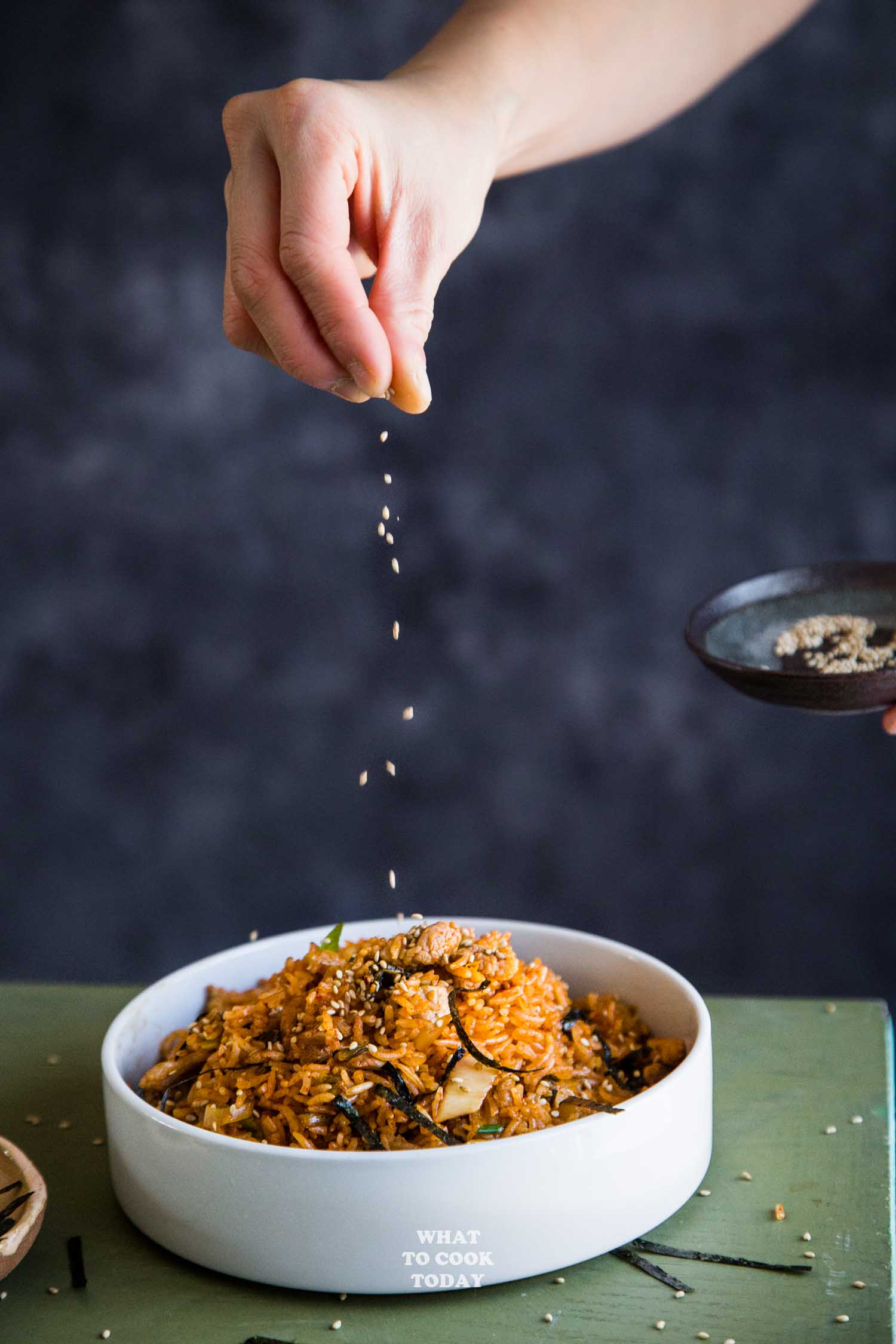 Super Easy Kimchi Bokkeum Bap (Kimchi Fried Rice)
