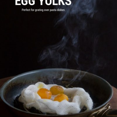 How to make your own salted eggs and smoked egg yolks