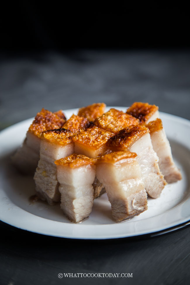The Easiest Crispy Roast Pork Belly (Siu Yuk / Sio Bak)