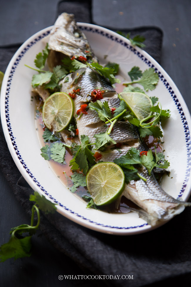 Thai-Style Steamed Whole Fish