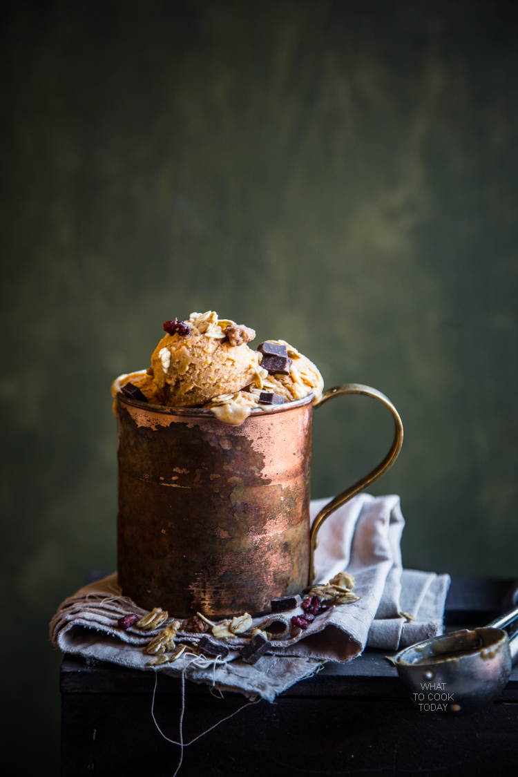 Cinnamon brown sugar pumpkin ice cream