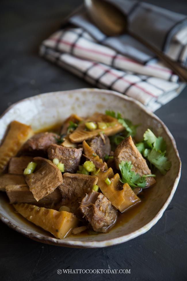 Braised Pork with Young Bamboo Shoots