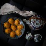 Pumpkin ang ku kue (Pumpkin tortoise cake)