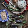 Grilled fish cake in banana leaves (Otak Otak)