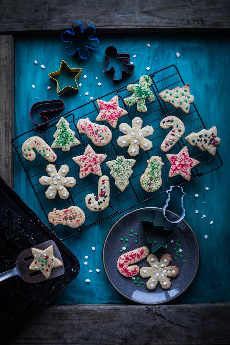 Christmas Maple Sugar Cookies