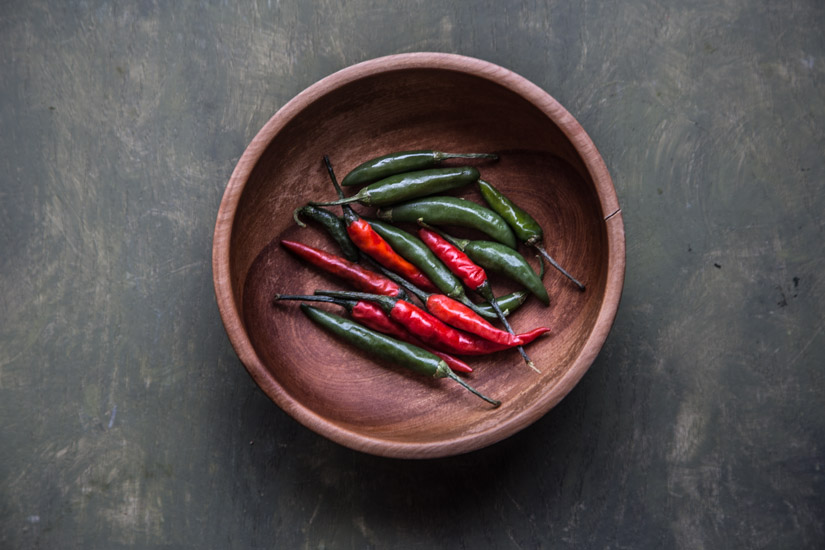 Red and Green Chili