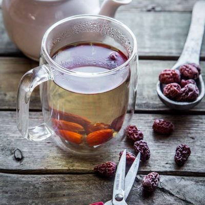 Easy Nourishing Chinese Red Dates Tea