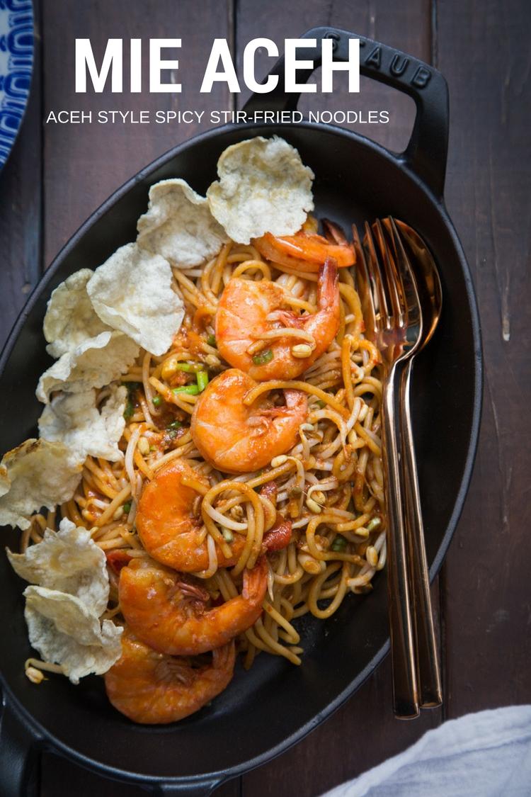 Aceh noodles (Mie Aceh)