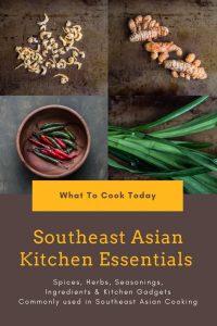 Southeast Asian Kitchen Essentials