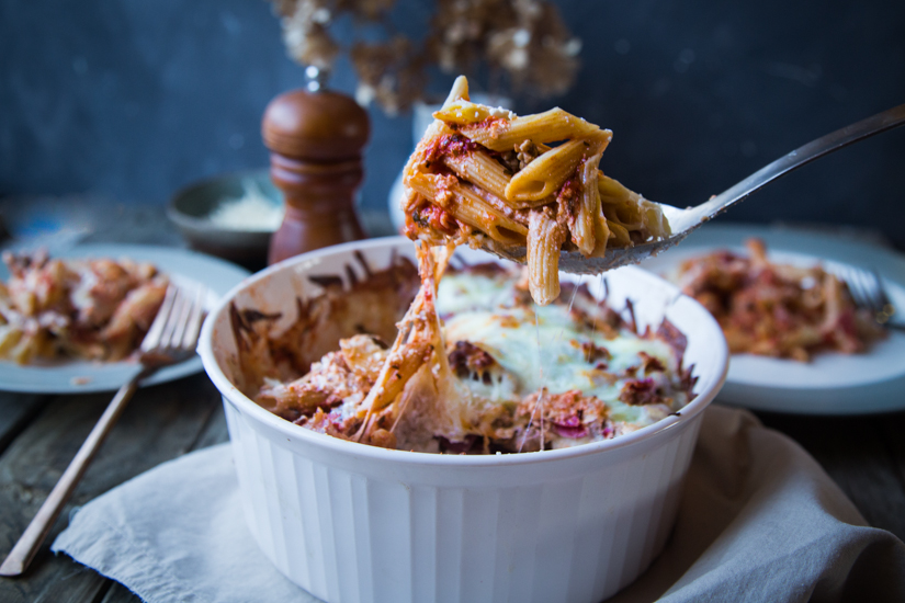 Penne Al Forno #StayInWithPasta #ad