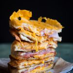 Epic Sourdough Grilled Ham and Cheese Sandwich