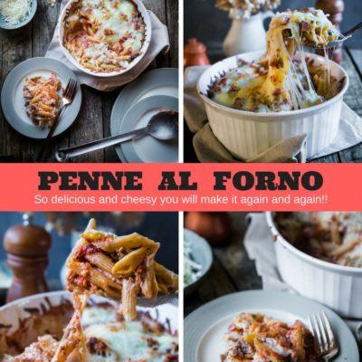 Penne Al Forno #StayInWithBarilla #ad