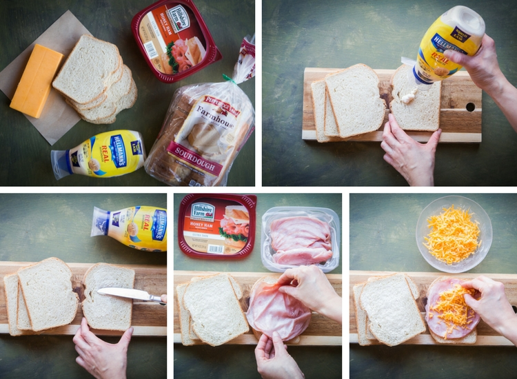 Epic Sourdough Grilled Ham and Cheese Sandwich #SandwichWithTheBest #ad