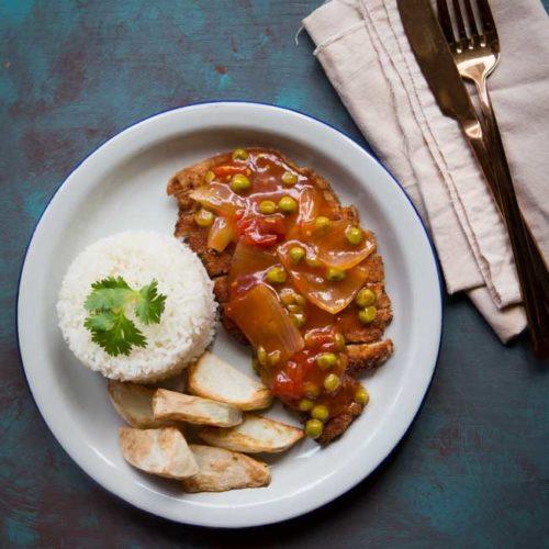 Easy Delicious Hainanese Pork Chop