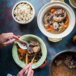 Sup Kaki Babi (Pork Hocks Black Bean Soup)