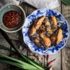 Indonesian Fried Chicken with Spice and Herbs (Ayam Tangkap Aceh)