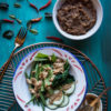 Pecel (Indonesian peanut sauce for salad)
