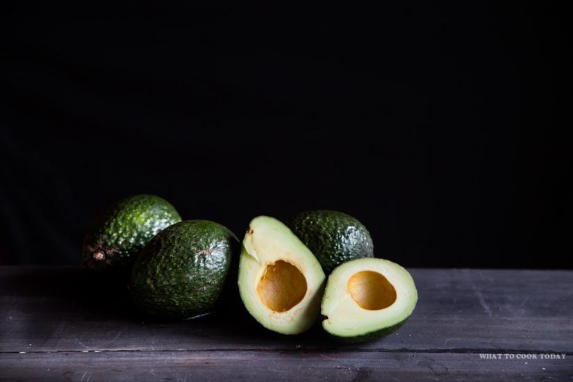 Ripen Avocado to make avocado waffles
