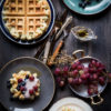 Dairy-Free Avocado Yogurt Waffles