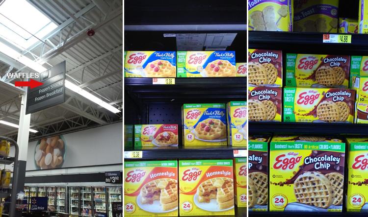 Eggo Waffles at Walmart #LeggoMyEggo #HearTheNews #ad