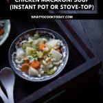 Asian Chicken Macaroni Soup