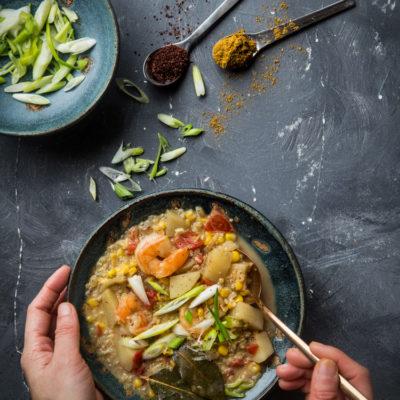 Quinoa Curry Chowder