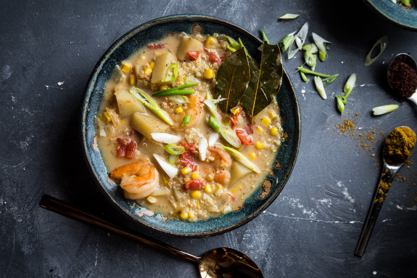 Quinoa Curry Chowder