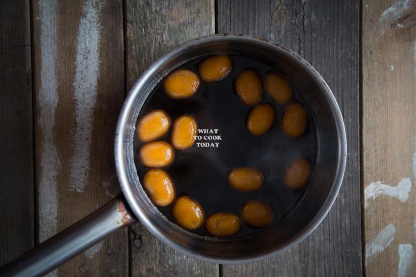 Kolak Biji Salak (Sweet Potato Dumplings with Coconut Sauce)